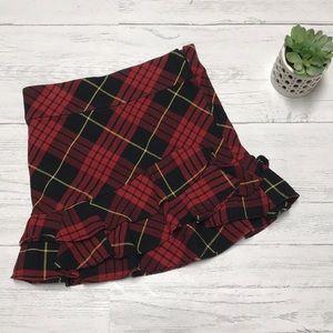 Ralph Lauren plaid skirt. 🎄